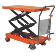 Mobile Double Scissor Lift Tables