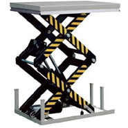 Static Double Scissor Lift Tables