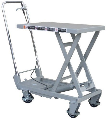 Aluminium Lightweight Mobile Scissor Lift Table