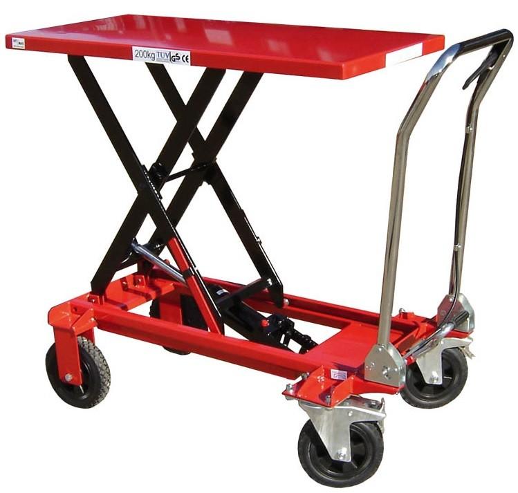 Rough Terrain Mobile Scissor Lift Table