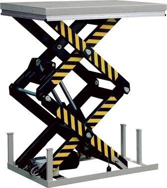 Static Double Scissor Lift Table