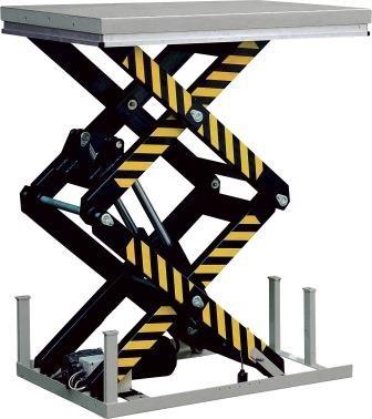 Static Double Scissor Lift Table