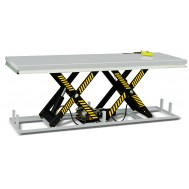 Horizontal Double Scissor Lift Static Table