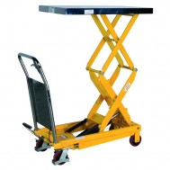 Mobile Double Lift Table