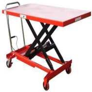 Mobile Scissor Lift Table with Large Platform