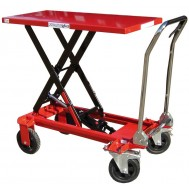 Rough Terrain Mobile Scissor Lift Table