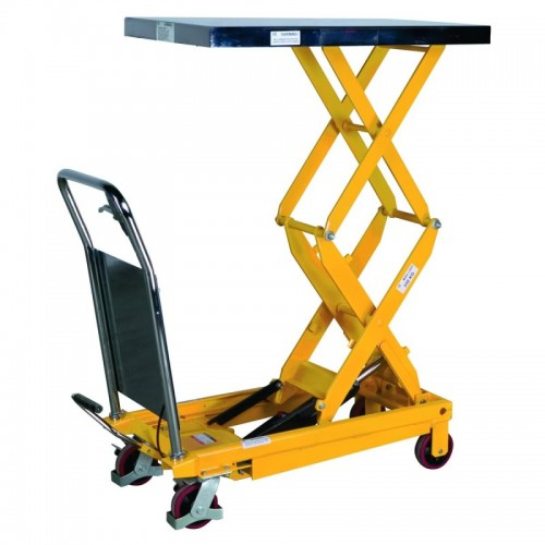 Mobile Double Lift Table - ERGOLT350D - just £479 (5-7 Day Lead Time)